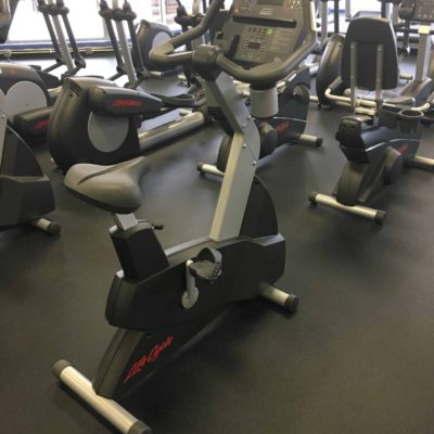 Life Fitness CLSC Integrity Upright Bike _ 2nd Round Fitness